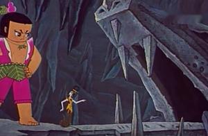 葫芦娃,力大无穷大娃单枪匹马救爷爷,被蛇精陷害掉入泥坑