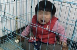 网传广东一男子虐童警方:男子故意摆拍与前妻斗气