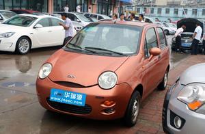 曾经的一代神车奇瑞QQ,现如今杭州二手市场只要7000元!