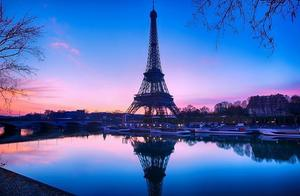 法国名迹,埃菲尔铁塔百年不锈的原因大揭秘。你了解吗