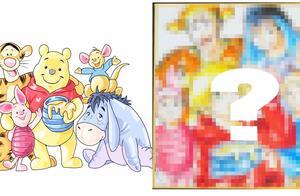 小熊维尼和跳跳虎变成日式漫画形象是怎样的?这画师居然画出来了