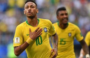 被淘汰的德国队记录被巴西打破,内马尔一传一射,彰显巨星风范!