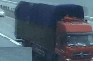 GIF动图:为什么高速公路禁止停车,来看这一组交通事故