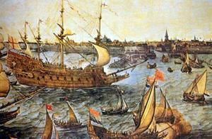 历史上的今天——1588年8月8日,西班牙和英国的格拉沃利讷海战