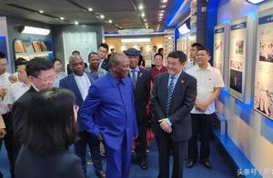"""几内亚总统考察宜昌人福、安琪时说:让""""中国智造""""点亮几内亚"""