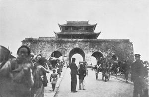 最后一个汉人帝国——大明的南京故宫老照片,不文明的外国人涂鸦