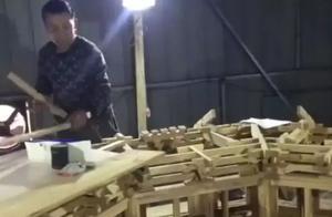 真正手艺人,应县木塔重度痴迷,山西农民欠债50万造手工木塔