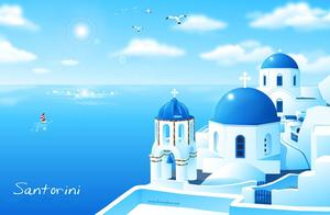 走遍欧洲之—在圣托里尼,寻找阳光和海水的滋润