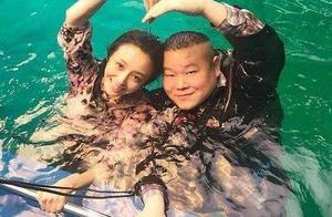 岳云鹏喜谈与佟丽娅拍戏感受,亲都亲了还能说啥?