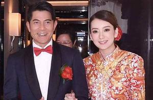 郭富城比丈母娘还要大4岁,看到两人照片后,网友:扎心了