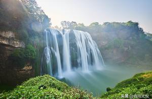 西游记取景之地,你去过吗?黄果树瀑布雨季之后美景,你看过吗?