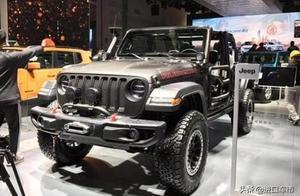 帅气有颜值 这才是越野车该有的样子 Jeep特别版牧马人亮相上海