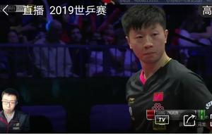 马龙4:1胜梁靖崑,晋级2019年世乒赛男单决赛。