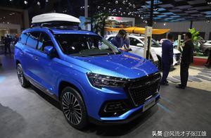 奇瑞控股捷途X95,7座中型旗舰运动型SUV,上海车展实拍!