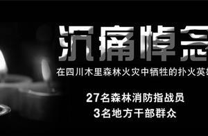 【8点见】23具英雄遗体完成DNA检测 木里森林火灾明火已扑灭