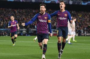 拒绝逆转!梅西4分钟梅开二度斩曼联,领跑欧冠射手榜!