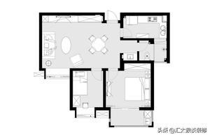 晒85平两居室,不豪华不花哨,却温馨舒适又宜家,朋友都说实用!