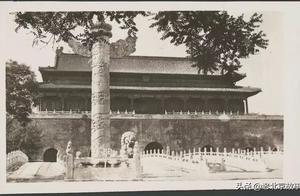 12张图,带你领略1935年北京故宫三大殿的英姿