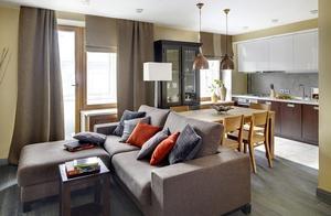 小户型公寓装修设计欣赏