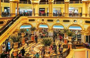 澳门威尼斯人酒店,美轮美奂的景色,让人流连忘返!