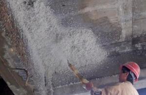 不合格的无机纤维喷涂保温材料危害大