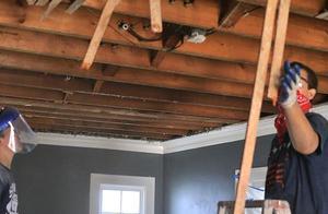 房间天花板发霉怎么办
