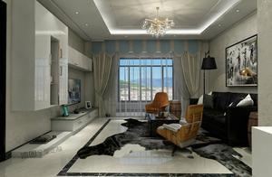 178平米的四居室装修半包只花了5万,简约风格让人眼前一亮!-保利拉菲公馆朗菲园装修
