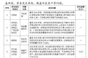 审计署点名:河南省个别银行不良率超40%,三省掩盖不良资产