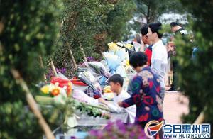 鲜花一束寄哀思 越来越多市民选择绿色祭扫缅怀逝者