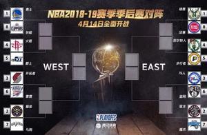 NBA季后赛首轮对阵出炉:掘金下棋成功,火勇大战次轮上演?