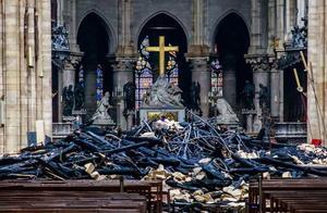 """巴黎圣母院将以""""过失破坏""""提起诉讼 旨在推进保险赔偿程序"""