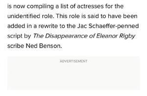 周杰伦分享昆凌被列入《黑寡妇》参考演员名单
