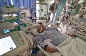68岁香港男星被曝病危,已转icu满身插管抢救治疗