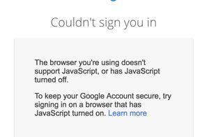 谷歌将于6月起禁止通过嵌入式浏览器框架的登录