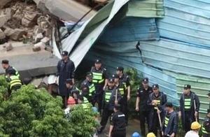 突发!深圳暴雨导致2人被埋困,一小孩抢救无效死亡