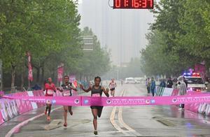 1小时16分36秒!2019郑州(高新区)国际女子半程马拉松冠军产生