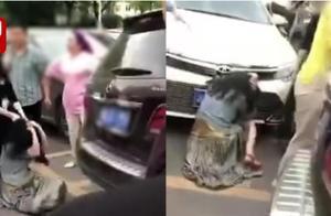 打小三?宝马当街撞停奔驰拉下女司机暴打 警方通报来了