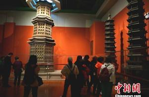 探访洛阳博物馆宫廷瑰宝 出自慈宁宫大佛堂