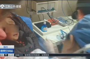 3岁半顽皮幼儿,不慎将纽扣电池塞进鼻腔内,孩子哭闹检查困难