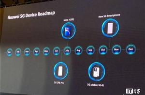 华为公布5G路线图:Mate X七月上市,新5G手机十月见