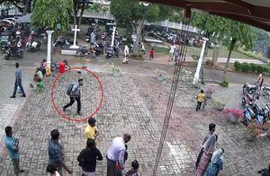 斯里兰卡自杀式爆炸监控公布:在教堂祈祷人群中引爆