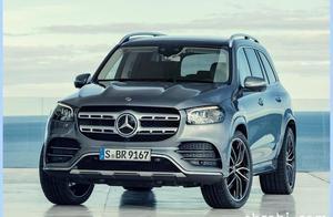 49万买旗舰SUV?奔驰全新GLS多图曝光,动力比宝马X7还强