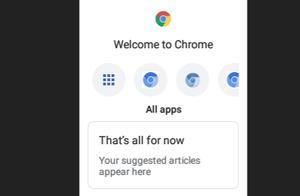 """谷歌开发用于功能手机的""""非触摸""""Chrome浏览器"""