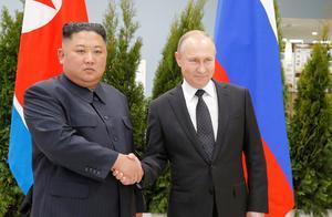 普京与金正恩首会晤:希望推动朝鲜半岛无核化