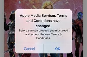 """App Store用户报告遭遇无限""""服务条款""""循环导致应用无法下载"""