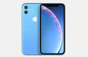 "iPhone XR 2019渲染图曝光!后置双摄也采用""浴霸""设计"