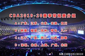 CBA2019-2020赛季常规赛分组正式出炉