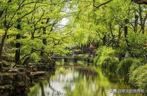 情迷苏州拙政园,满园翠绿生机盎然,古雅楼阁更添韵味