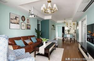 124㎡浪漫美式3室2厅,榻榻米书房文艺有情调!