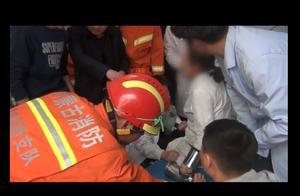 女子因操作不慎 左手卷入绞肉机 消防赶到将手臂成功取出